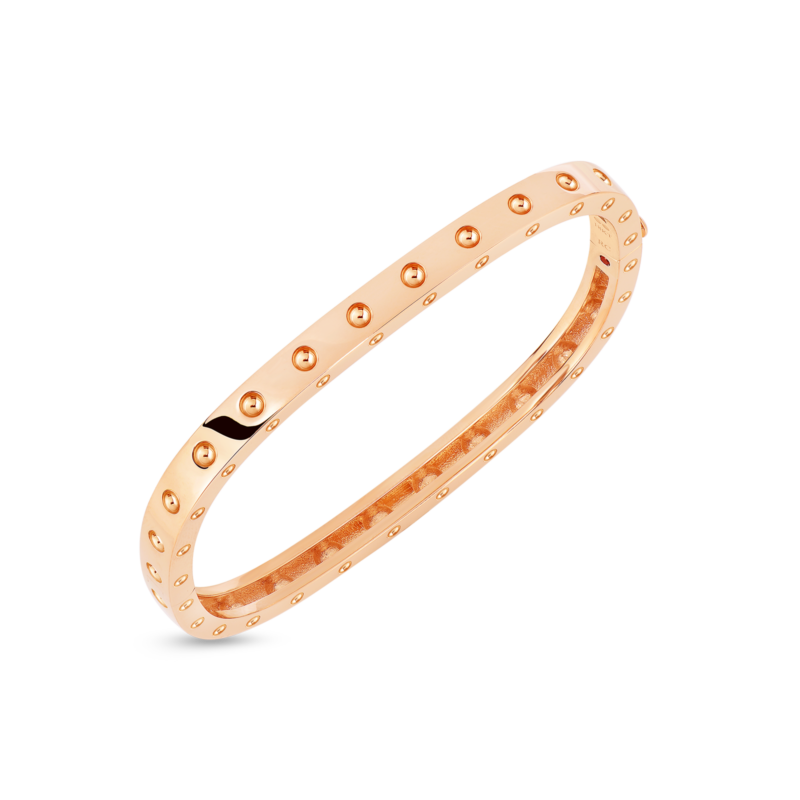 Roberto-Coin-Pois-Moi-18K-Rose-Gold-1-Row-Square-Bangle-888522AXBA0M